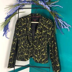 LWren Scott lace overlay fitted jacket/blazer.